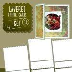 Frame layerd cards